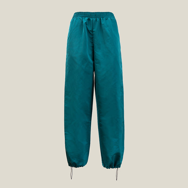 Drawstring Pants, Green