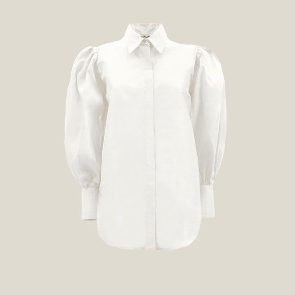 Puff Shirt, Off White