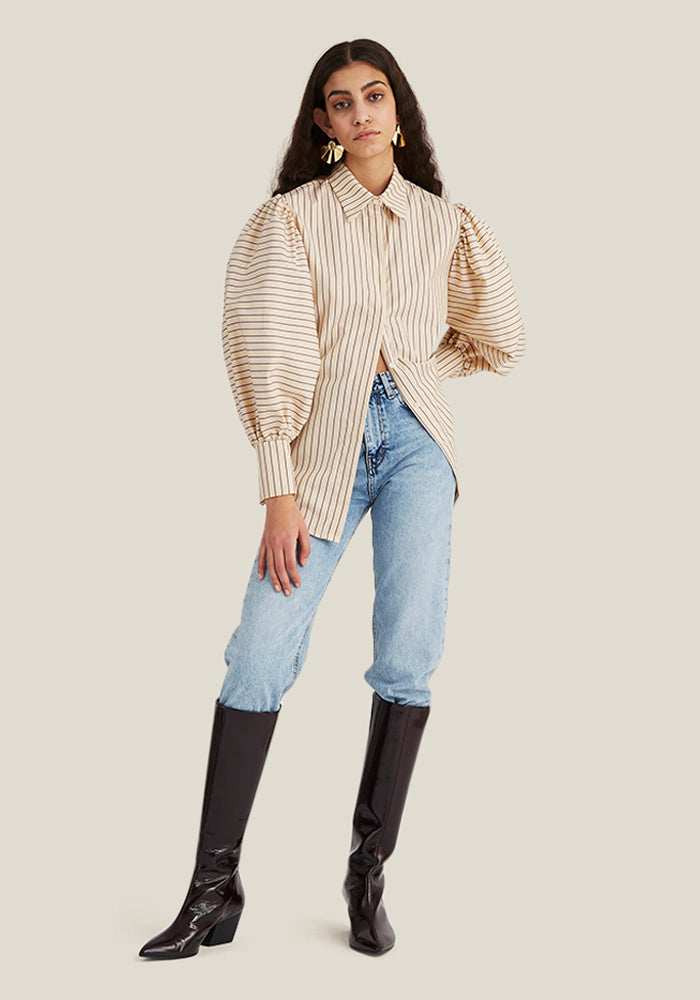 Puff Shirt, Stripe (4446528438356)
