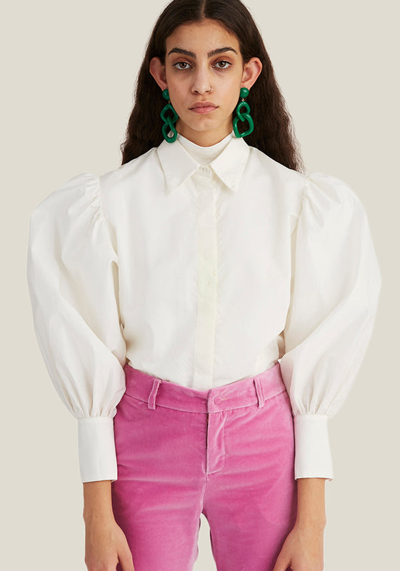 Puff Shirt, Off White (4446530404436)