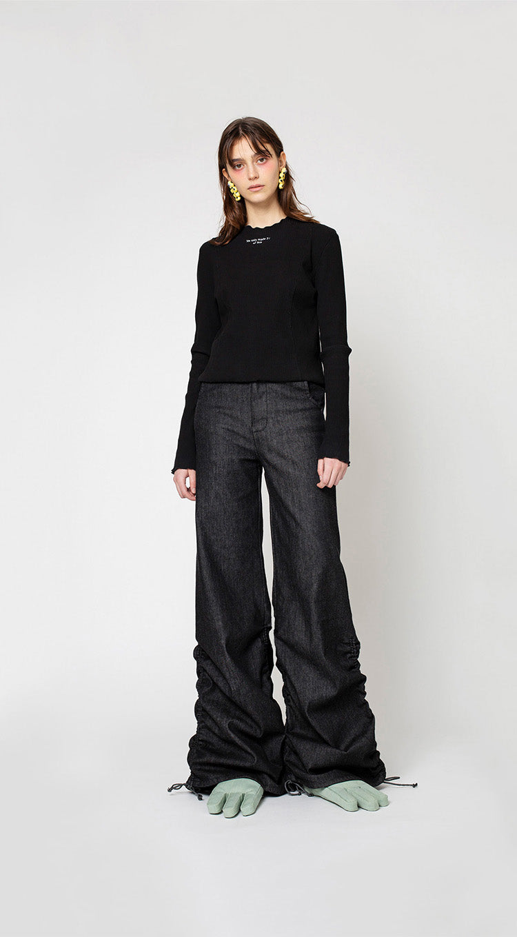 Cool Pant Denim, Pale Black