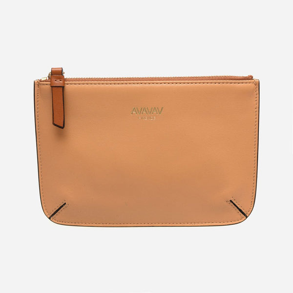 Small Pouch in Camel - AVAVAV-Small Pouch in Camel (2550021587028)