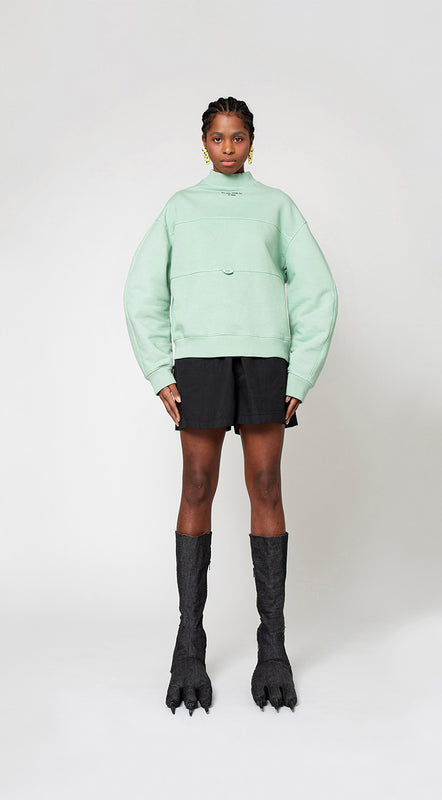 Huggable Sweatshirt, Green