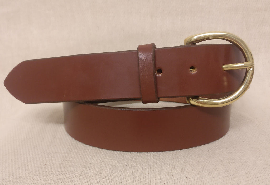 The Cassidy English Bridle Leather Belt