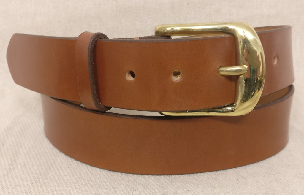 The Rees English Bridle Leather Belt