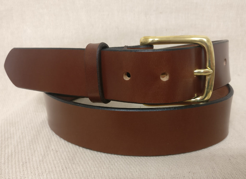 The Palmer English Bridle Leather Belt