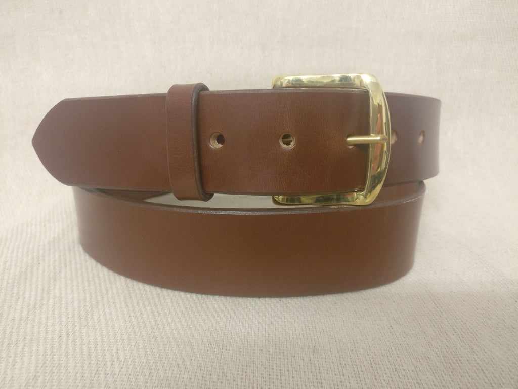 The Harford English Bridle Leather Belt