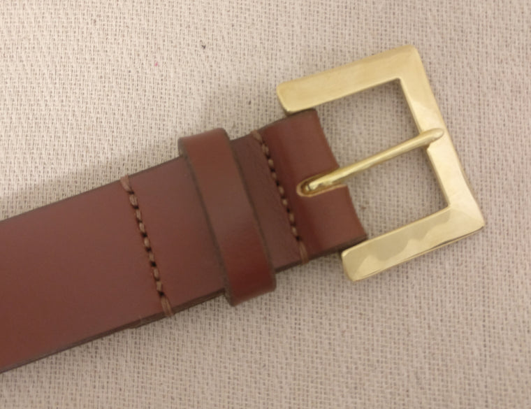The Matthews English Bridle Leather Belt