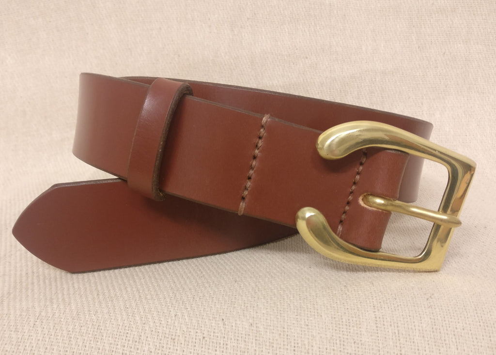 The Joyce English Bridle Leather Belt