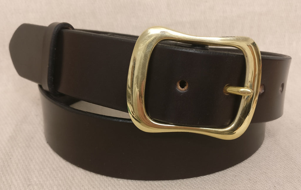 The Morgan English Bridle Leather Belt