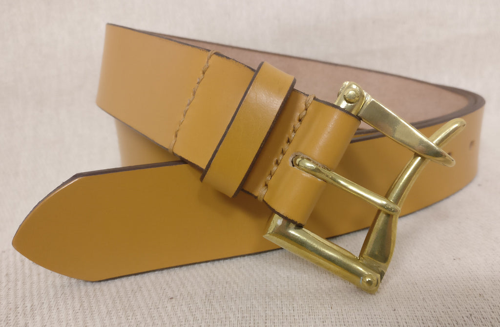 The Edward English Bridle Leather Belt