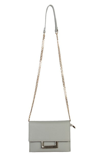 Bria Bella & Co - Gray Clutch/Crossbody
