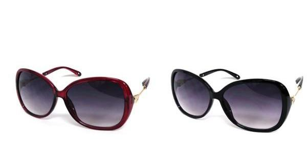Bria Bella & Co - Oversized Round Sunglasses