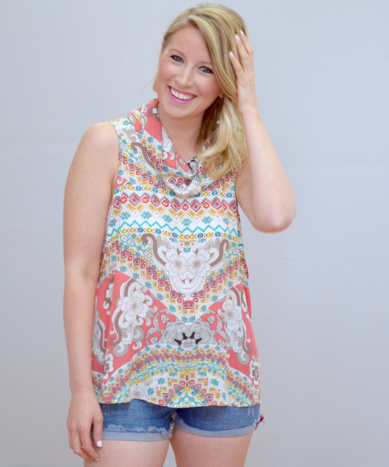 Bria Bella & Co - Bright & Breezy Sleeveless Top