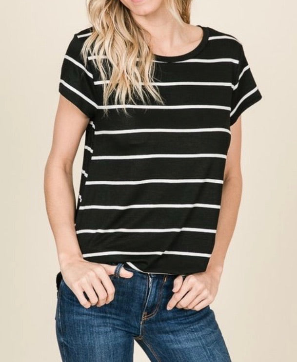 Classic Stripes Layering Tee