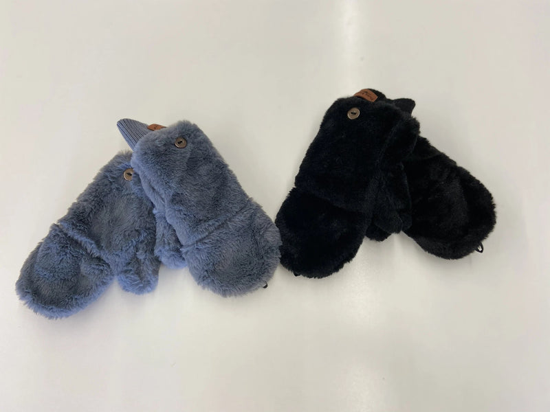 Bria Bella & Co - Convertible Ultra Plush Mittens