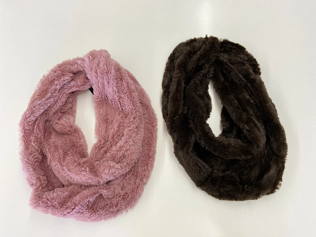 Bria Bella & Co - Plush Infinity Scarf