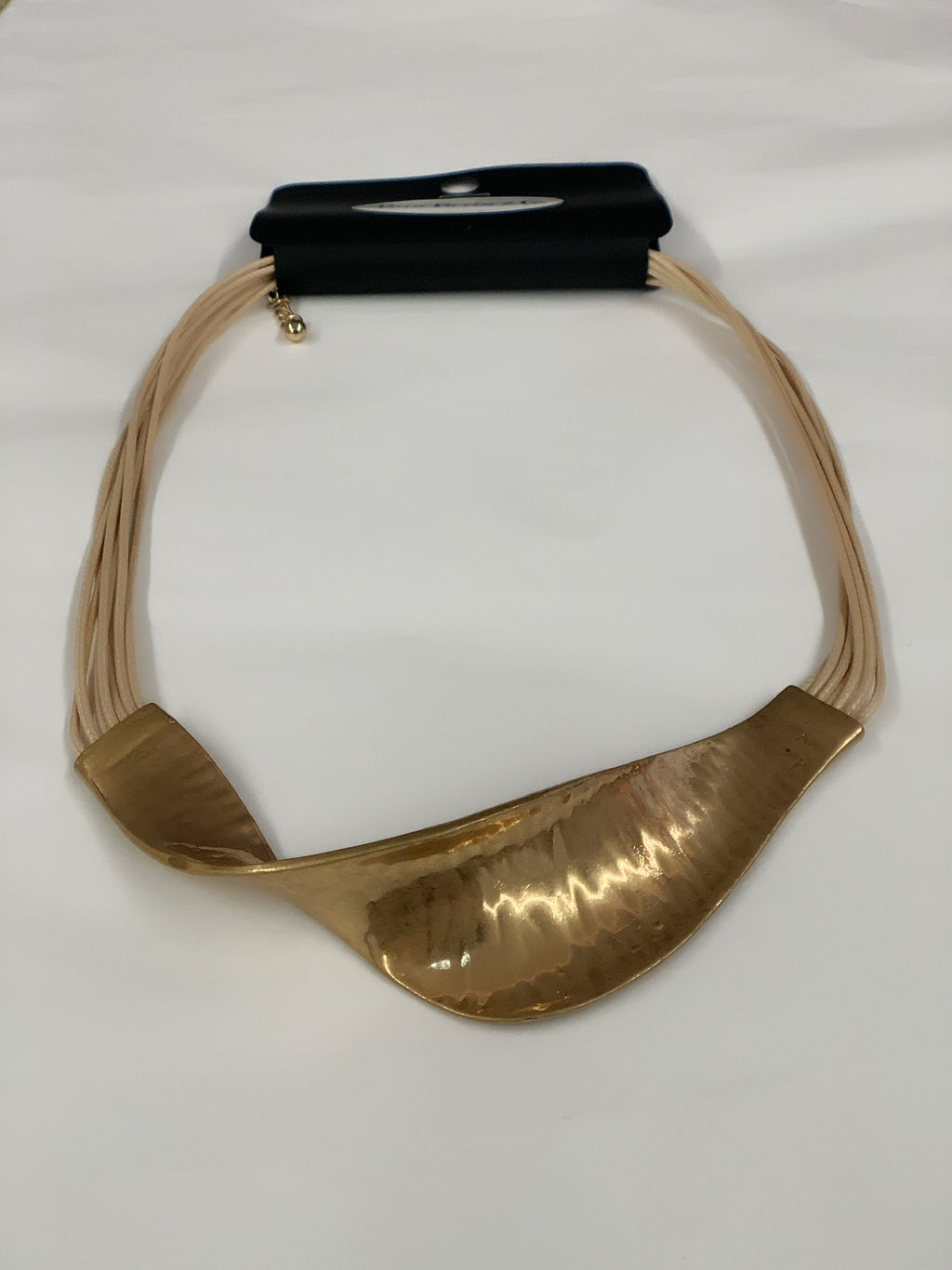 Golden Twist Necklace