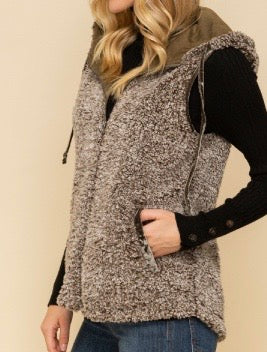 Bria Bella & Co - Teddy Bear Hooded Vest