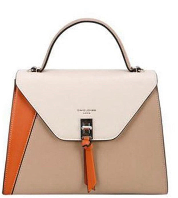 Tri-Color Satchel