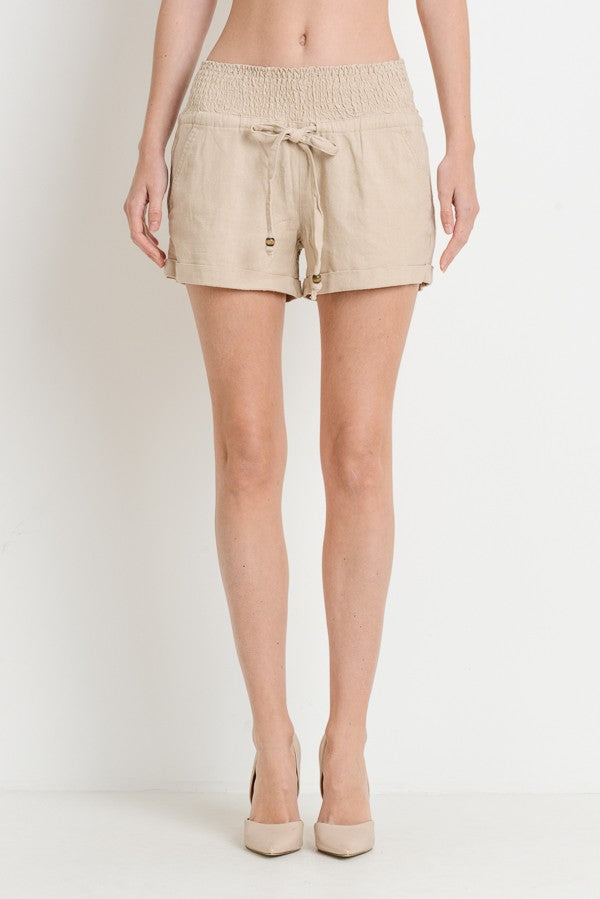 Downtown Linen Shorts