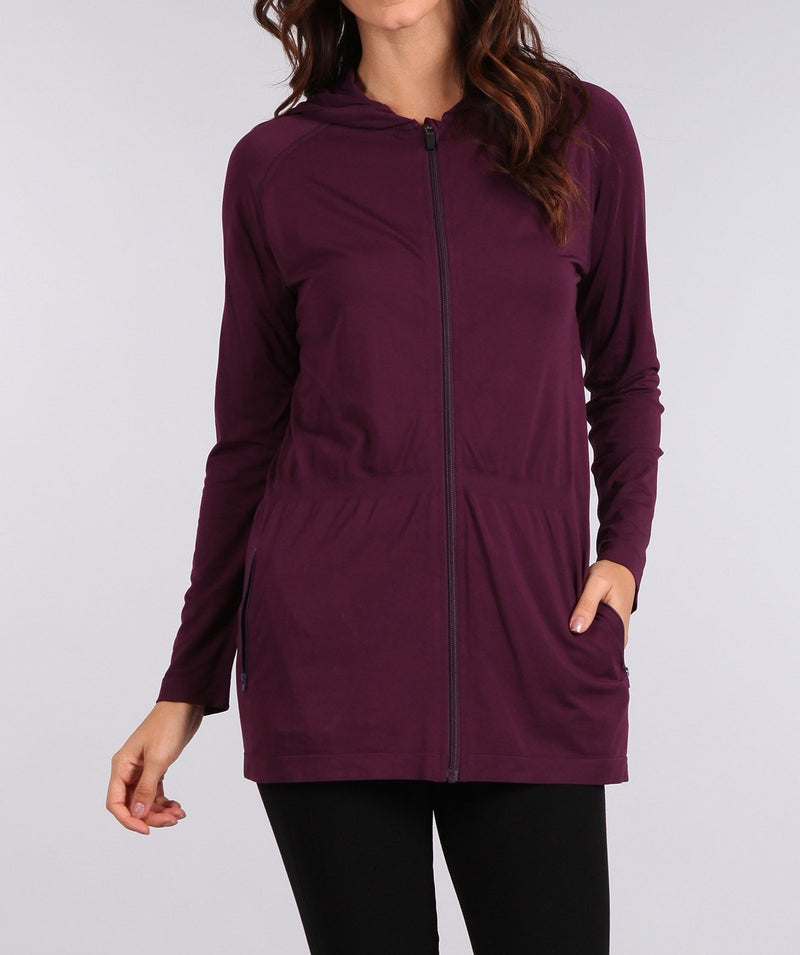 Bria Bella & Co - Athleisure Hooded Jacket