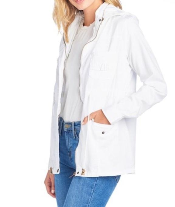 White Safari Jacket