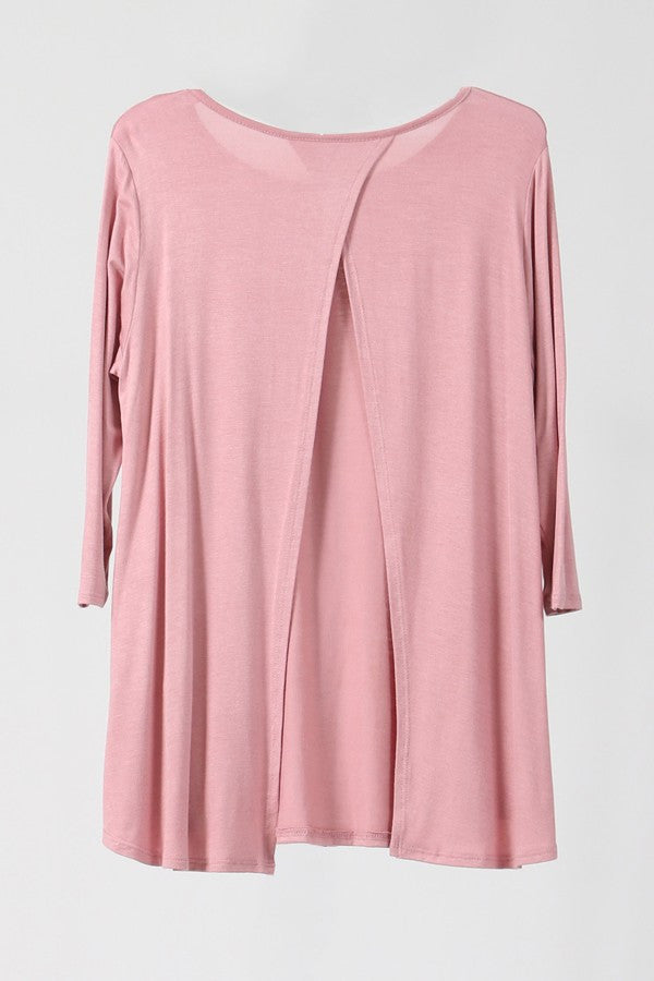 Bria Bella & Co - Blush Tunic Cover (Plus)