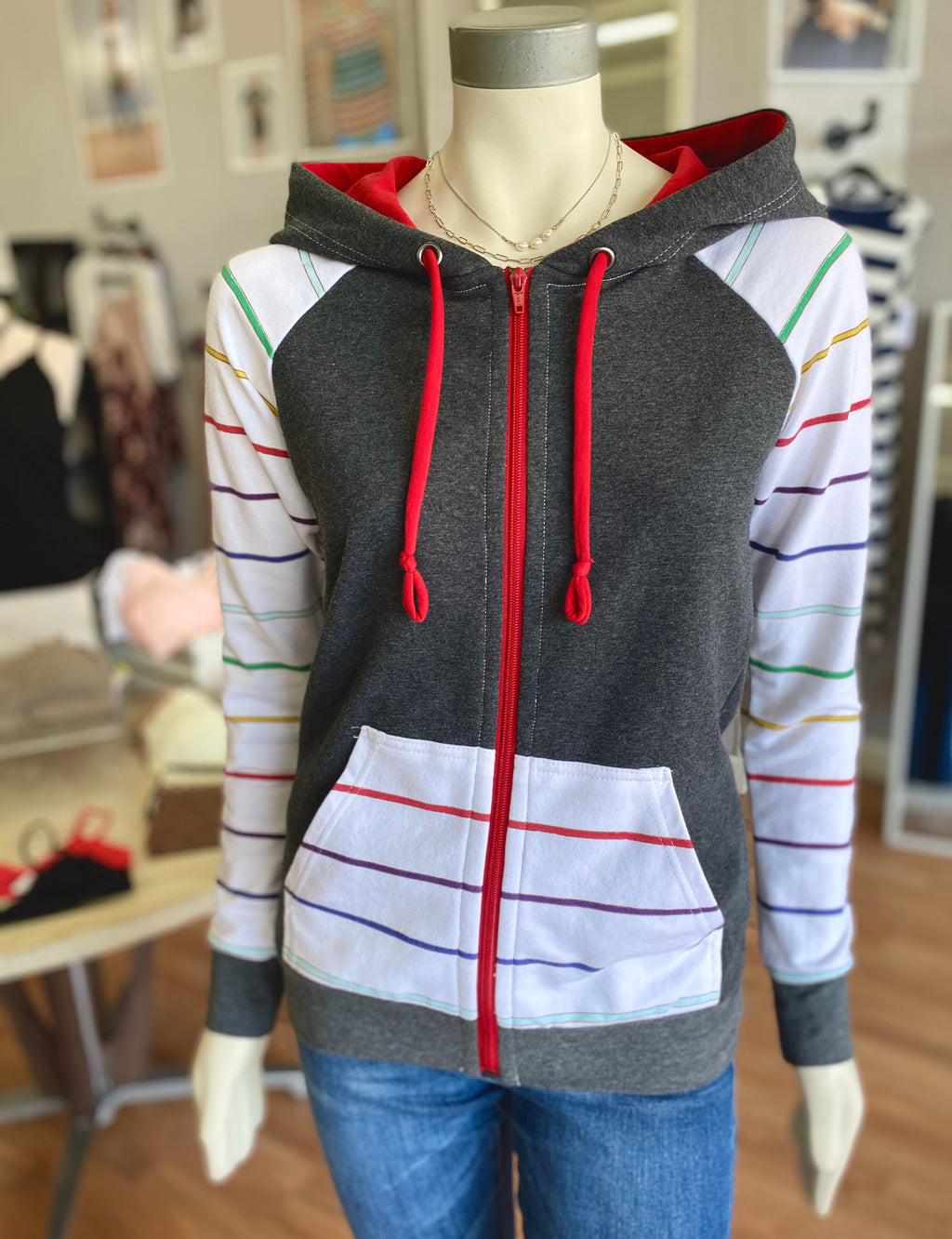 Bria Bella & Co - Adventure Zip-Up Hoodie