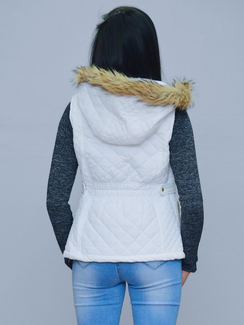 Quilted Puffer Jacket Vest
