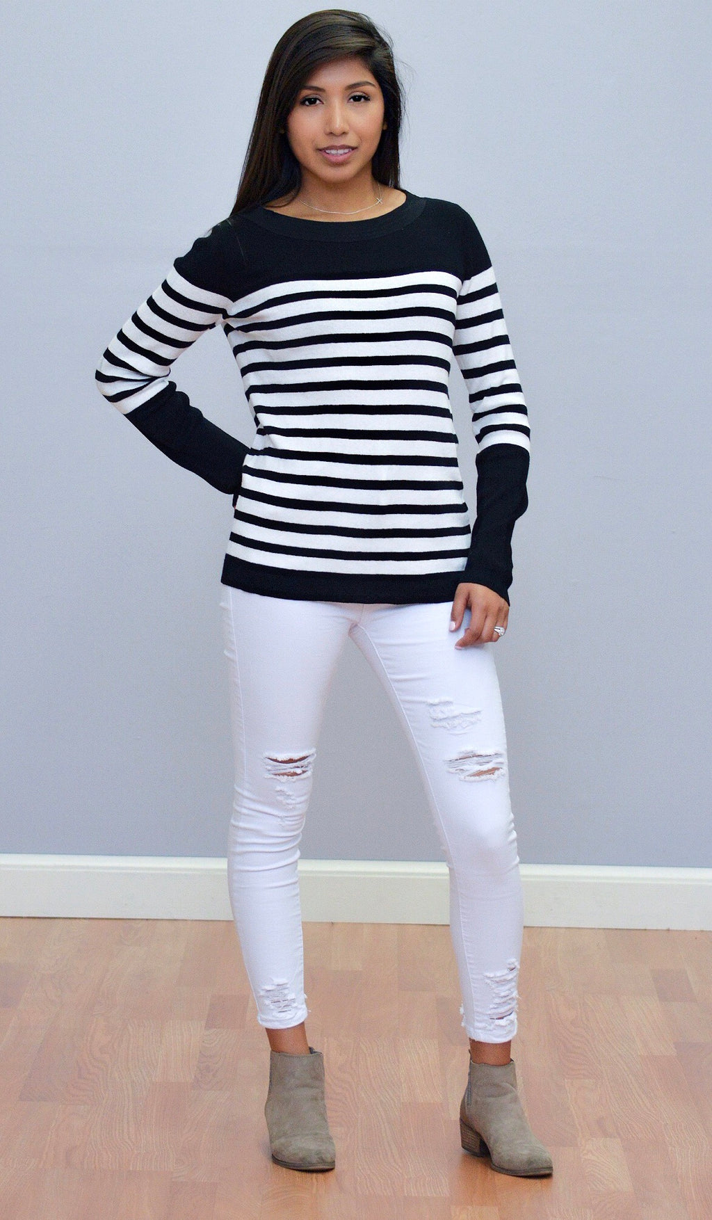 Pull-Over Crew Sweater