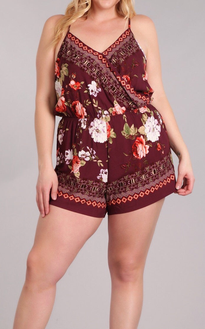 Bria Bella & Co - Summer Floral Romper