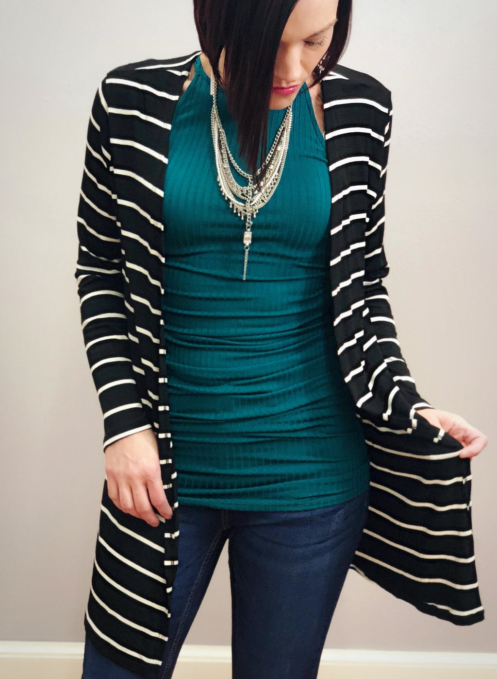 Bria Bella & Co - All-Season Open Cardigan