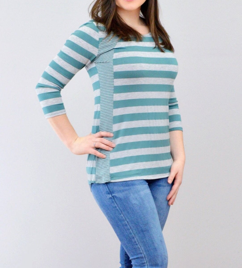 Mixed Stripes Top