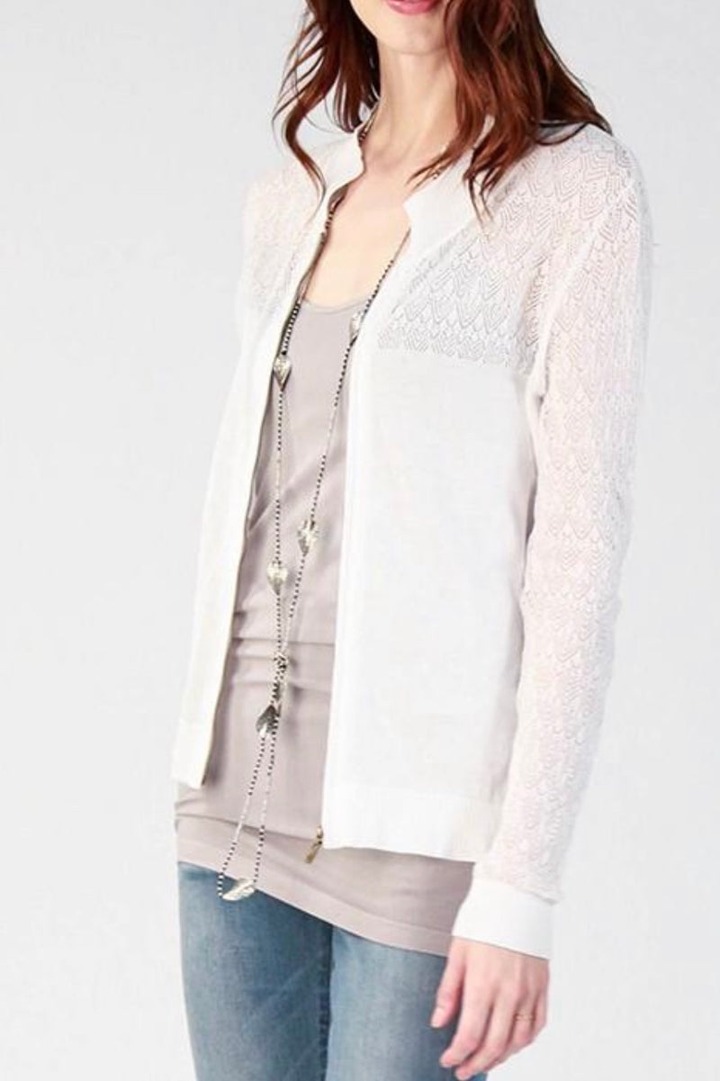 Lightweight Sweater Jacket