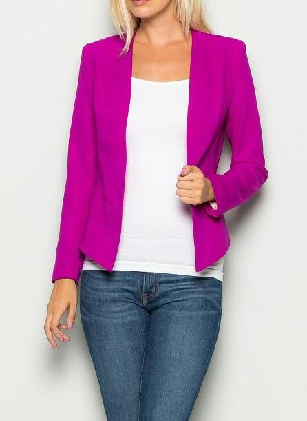 Orchid Suiting Blazer