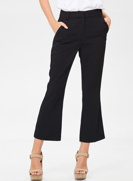 Bria Bella & Co - Modern Crop Dress Pant
