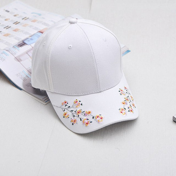 2018 Cotton Baseball Cap Plum Blossom Embroidery Cap Hip Hop Cap Wind Restoring Ancient Ways Cap Gifts Woman Hat