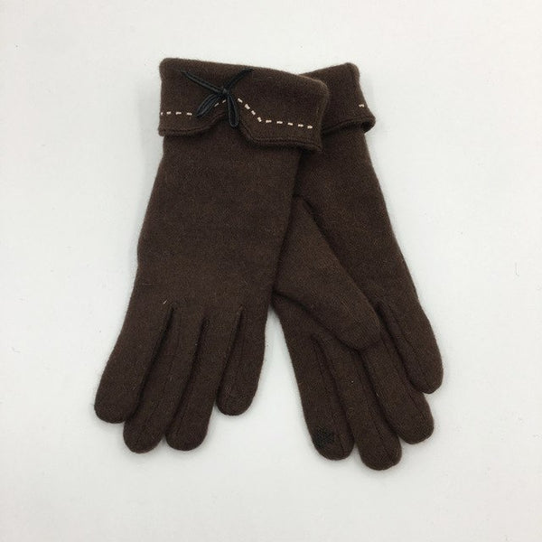 Winter Fall Warm Mittens Cotton Five-Fingers Gloves Tactical Plush Thick Keep Warm Gloves