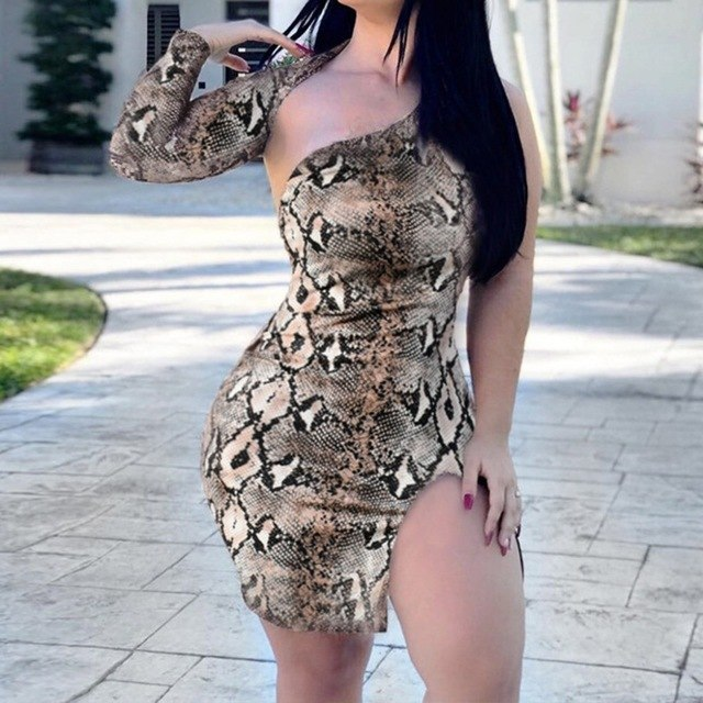 Bodycon Dress Ladies Hollow Snack Hollow Slim Bodycon Mini Part Dresses Dresses Woman Party Night