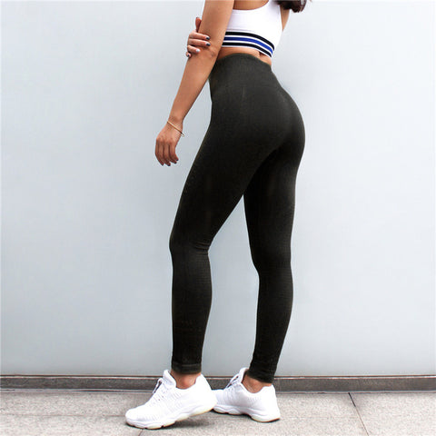 Women Diagonal Lines Hole Hollow Out Booty Slim Capris Spandex Fitness Workout Pant Quick Drying Butt Reds Leggings
