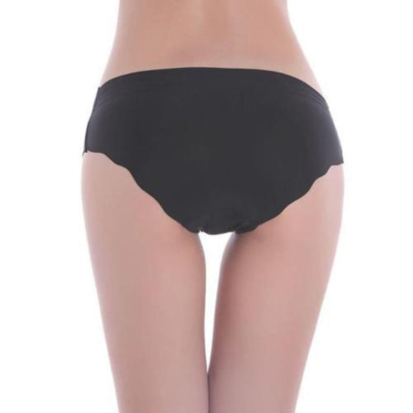 Women Sexy Solid Invisible Seamless Soft Thongs Lingerie Briefs Hipster Underwear Panties H7