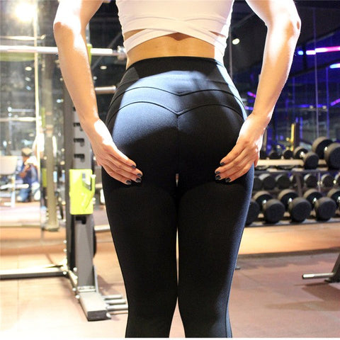 Yoga Leggins Sport Leggings Fitness Women Yoga Pants Sportlegging 2018 Seamless Solid Tights Women'S Moda Workout