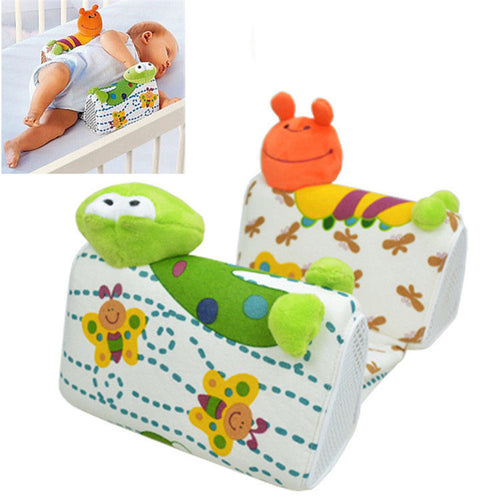 Baby Infant Newborn Cute Frog Cartoon Anti Roll Pillow