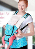 360 Baby Carrier  20kg Infant Backpack Carriers Front Facing  Wrap Polyester