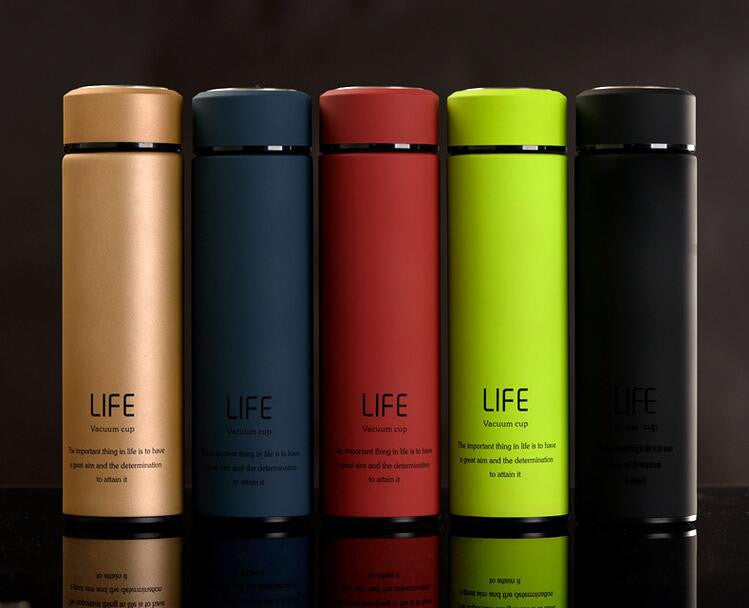High Quality Brief design vacuum flask thermal cup coffee mug water bottle 500ML