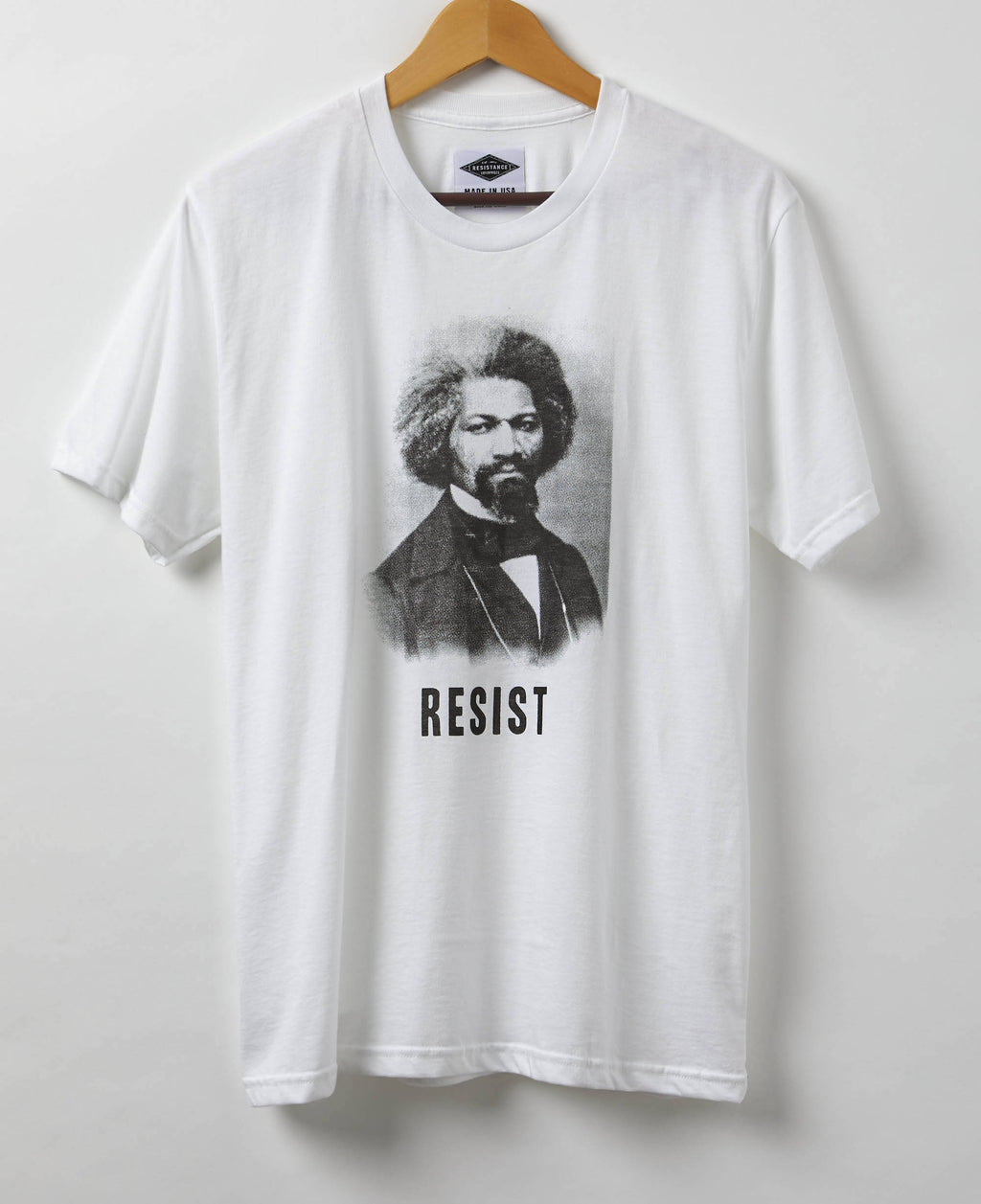 Resist Shirt - Frederick Douglass Men's T-Shirt - American Hero of the Resistance - Made in USA