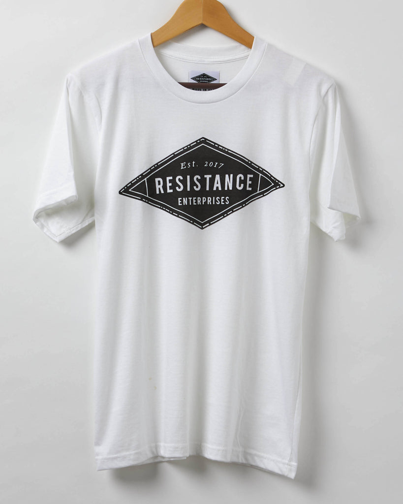 Resistance Enterprises Logo Shirt - Men's T-Shirt - Resist Shirt - Made in USA - 100% Cotton