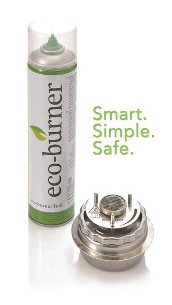 Ecoburner fuel alongside the Ecoburner Chafo.  Smart, Simple, Safe.