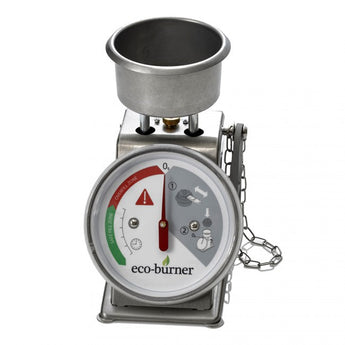 The Ecoburner Filling Station is used to measure the fuel level of the Ecoburner Chafo.